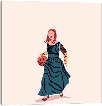 Balling Mona Canvas Art Print