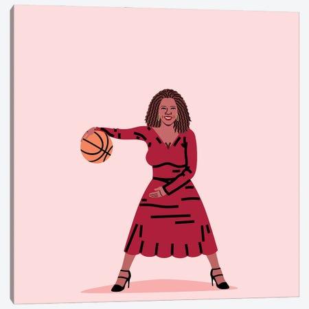 Balling Oprah Canvas Print #SGR12} by Elad Shagrir Canvas Art Print
