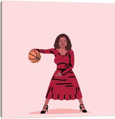 Balling Oprah Canvas Art Print