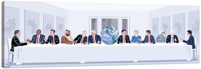 Earth's Last Supper Canvas Art Print