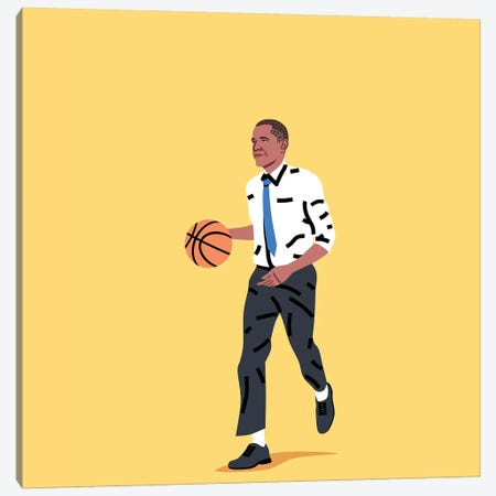 Balling Barack Canvas Print #SGR21} by Elad Shagrir Canvas Art