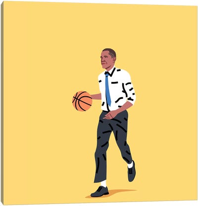 Balling Barack Canvas Art Print