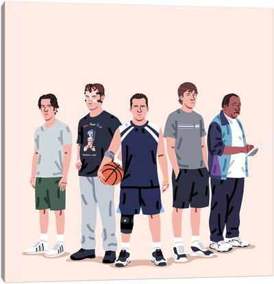 The Dream Team Canvas Art Print