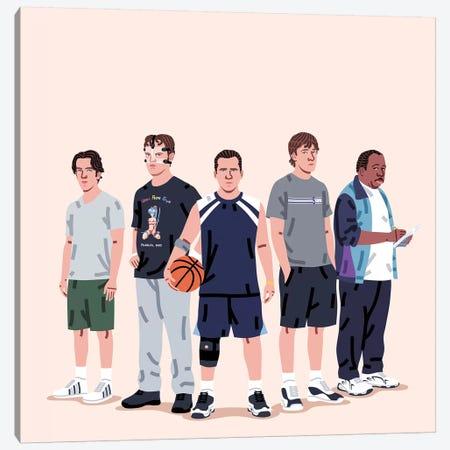The Dream Team Canvas Print #SGR23} by Elad Shagrir Canvas Artwork