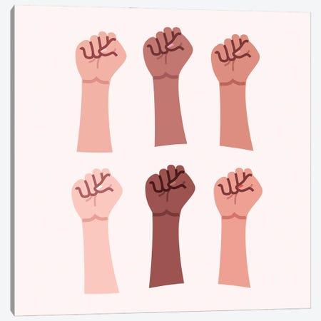 Hands Up Canvas Print #SGR27} by Elad Shagrir Canvas Print