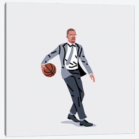 Balling Malcolm Canvas Print #SGR28} by Elad Shagrir Canvas Wall Art