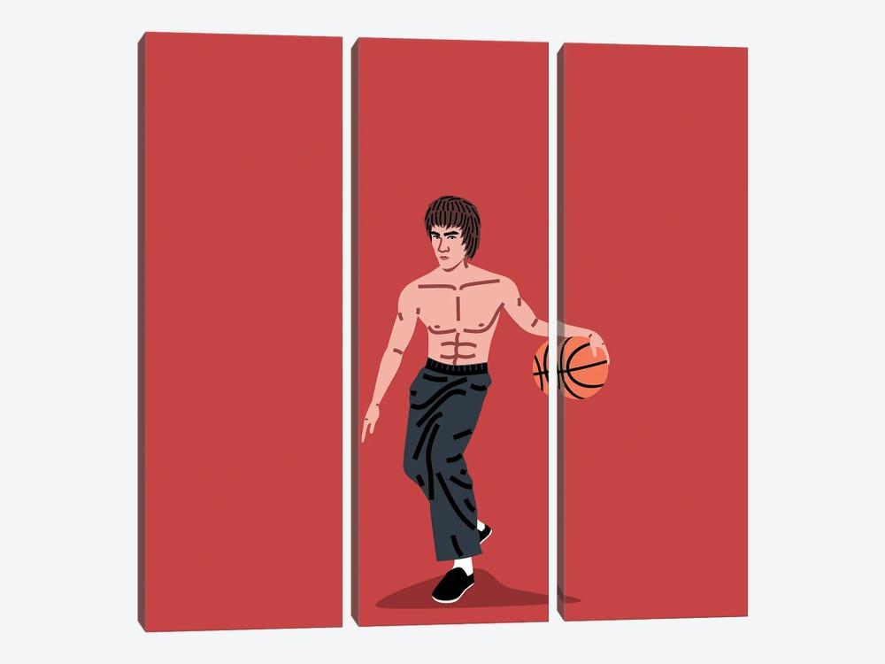 Balling Bruce by Elad Shagrir 3-piece Canvas Artwork