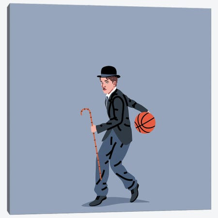 Balling Chaplin Canvas Print #SGR3} by Elad Shagrir Canvas Art