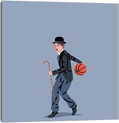Balling Chaplin Canvas Art Print