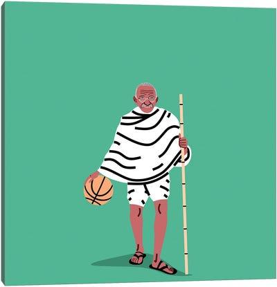 Balling Gandhi Canvas Art Print