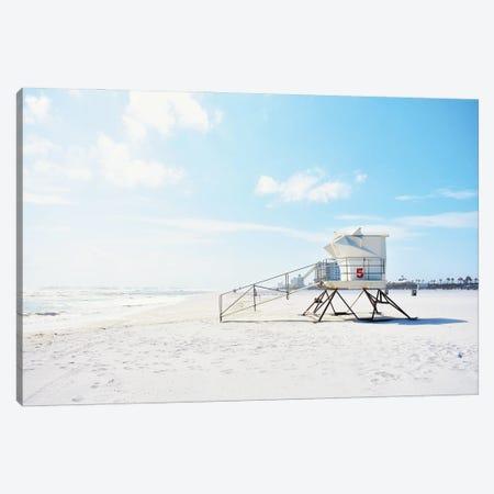 Lifeguard Station Canvas Print #SGS111} by Sd Graphics Studio Canvas Art Print