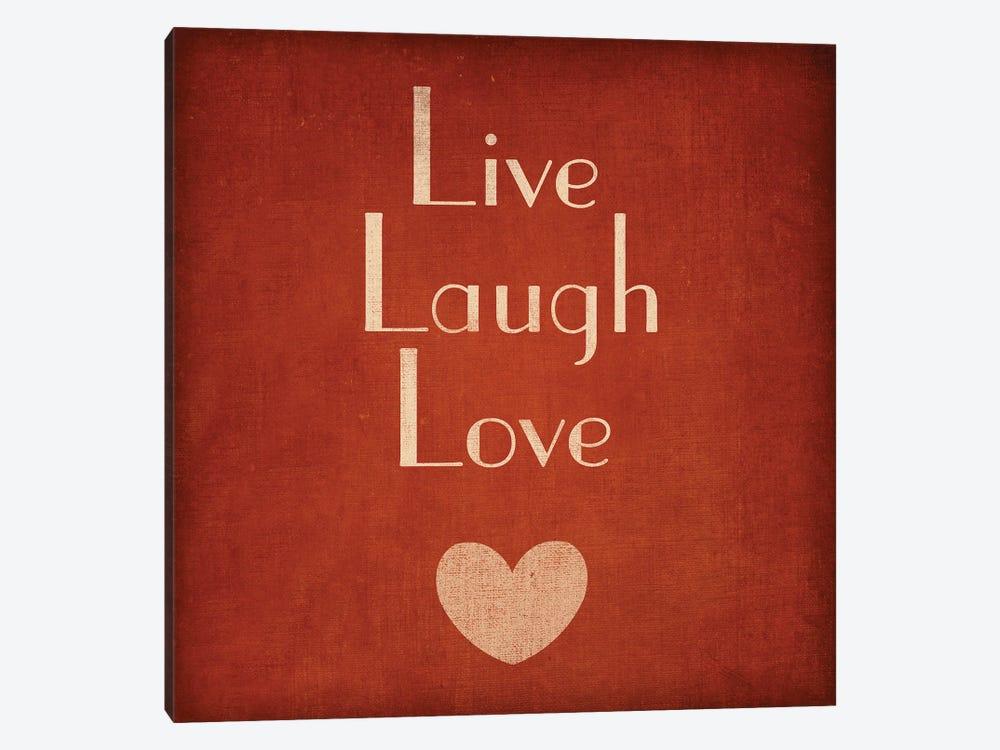 Live Laugh Love by Sd Graphics Studio 1-piece Canvas Art