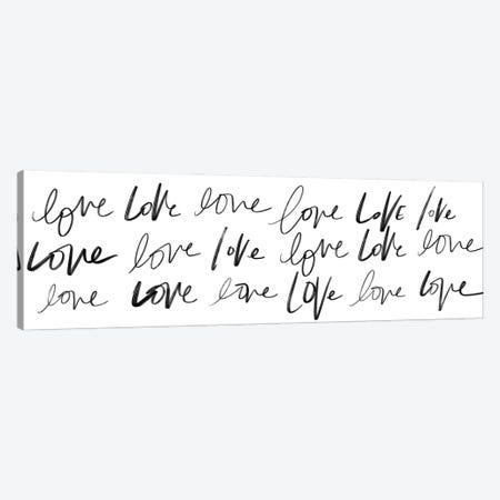 Love, Love, Love Canvas Print #SGS120} by Sd Graphics Studio Canvas Art