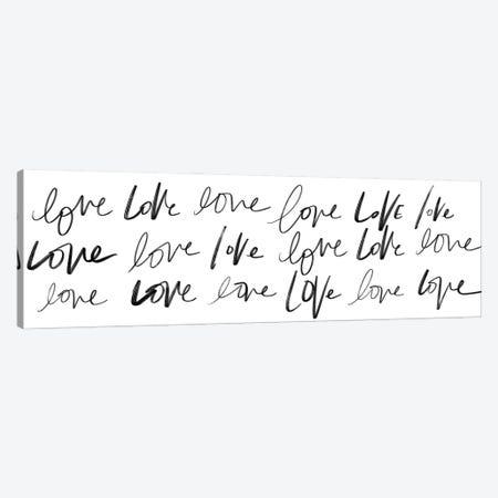 Love, Love, Love Canvas Print #SGS120} by Sd Graphics Studio Canvas Art