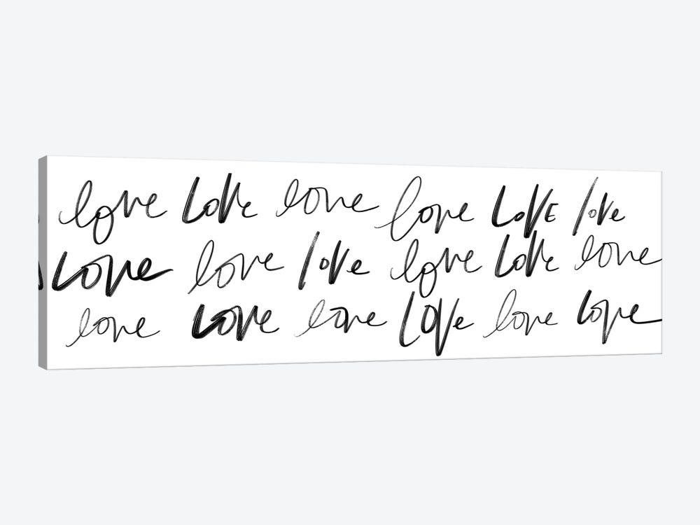 Love, Love, Love by Sd Graphics Studio 1-piece Canvas Print