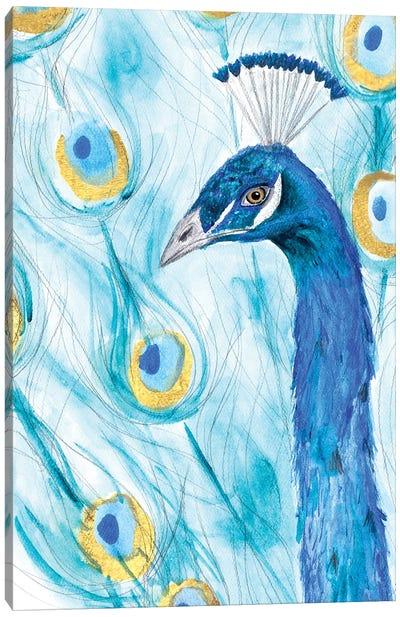 Majestic Peacock Canvas Art Print