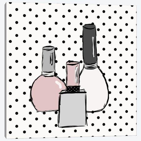 Nail Polish Dots Canvas Print #SGS125} by Sd Graphics Studio Canvas Art Print
