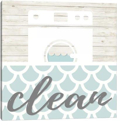 Clean Canvas Art Print