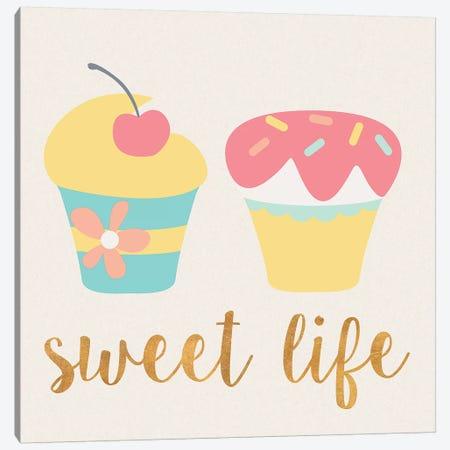 Cupcakes I Canvas Print #SGS16} by Sd Graphics Studio Art Print