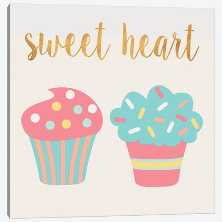 Cupcakes II Canvas Print #SGS17} by Sd Graphics Studio Canvas Print