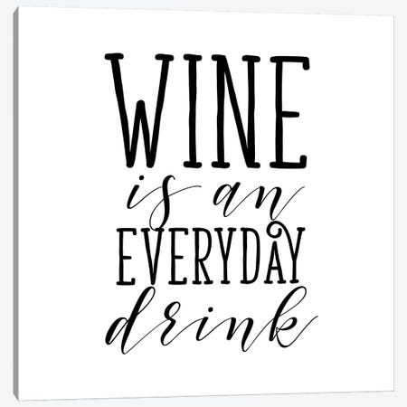 Everyday Drink Canvas Print #SGS19} by Sd Graphics Studio Canvas Wall Art