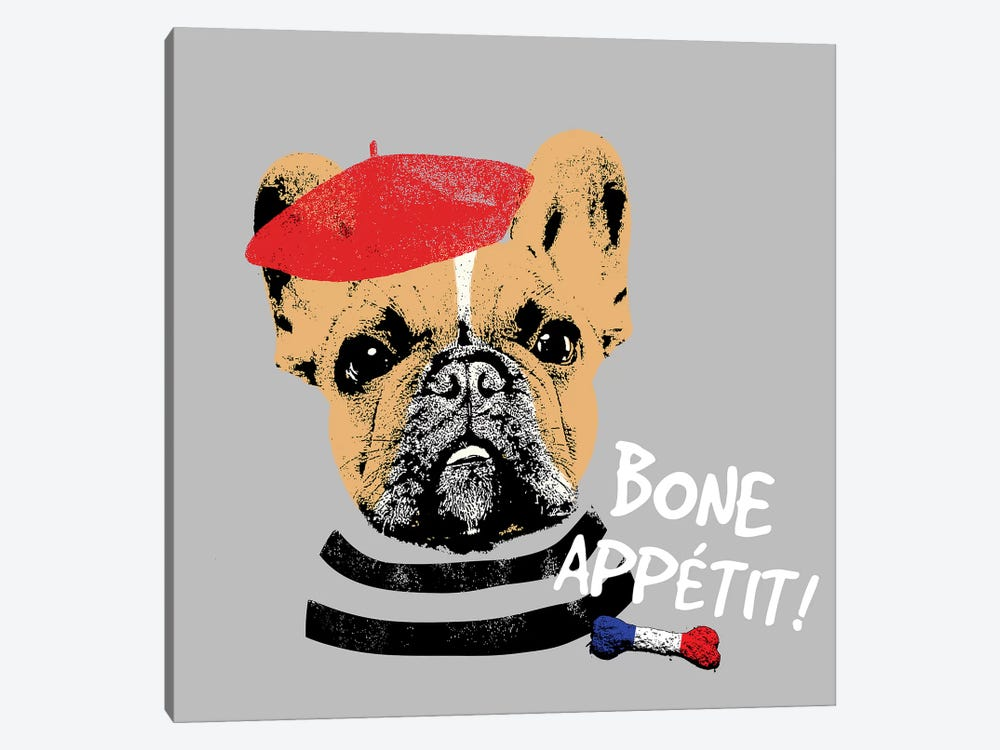 Bone Appetit by Sd Graphics Studio 1-piece Canvas Art