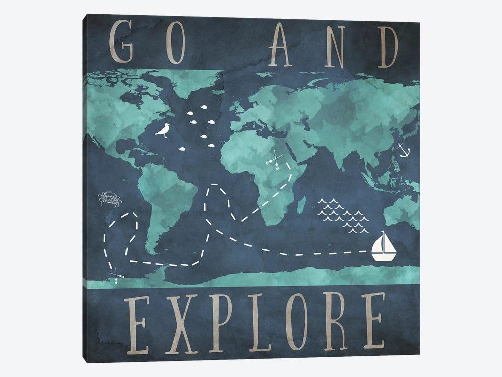 Go And Explore by Sd Graphics Studio 1-piece Canvas Art