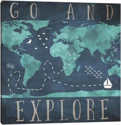 Go And Explore Canvas Art Print