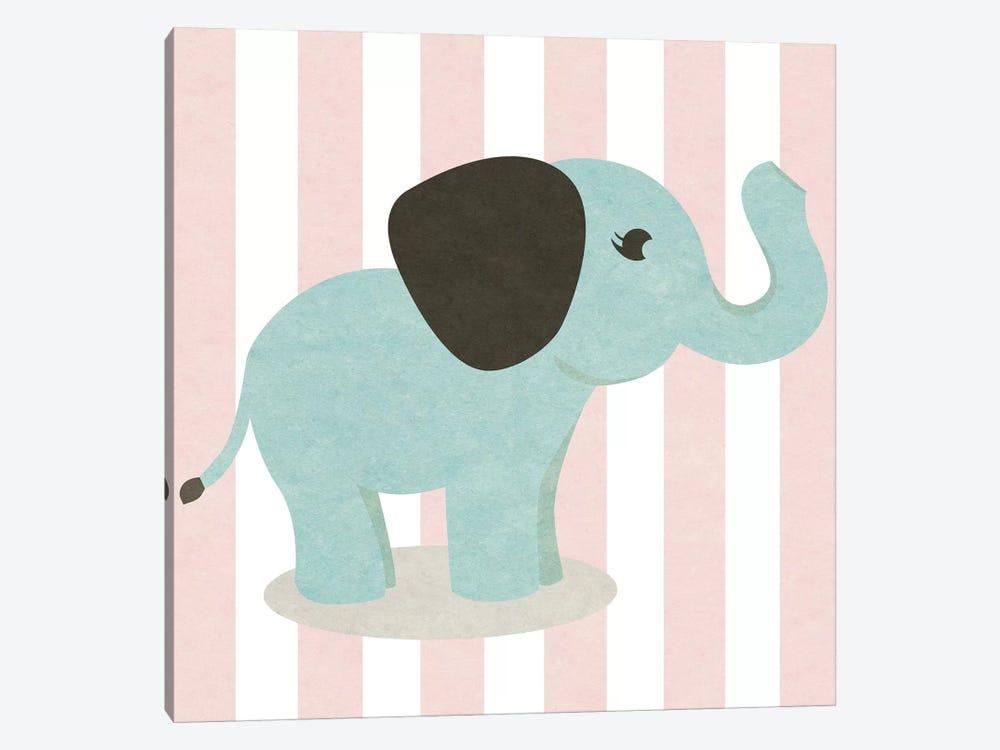 Happy Baby Animals I by Sd Graphics Studio 1-piece Art Print