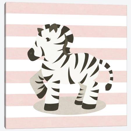 Happy Baby Animals II Canvas Print #SGS25} by Sd Graphics Studio Canvas Artwork