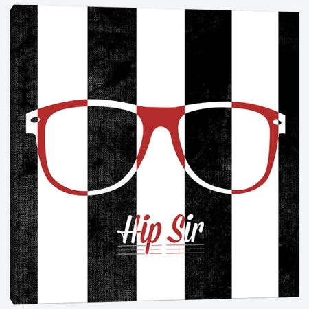 Hip Glasses II Canvas Print #SGS27} by Sd Graphics Studio Canvas Wall Art