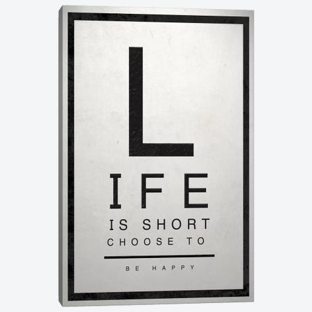 Inspirational Eye Chart IV Canvas Print #SGS30} by Sd Graphics Studio Canvas Wall Art