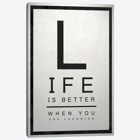 Inspirfagtional Eye Chart II Canvas Print #SGS31} by Sd Graphics Studio Canvas Artwork