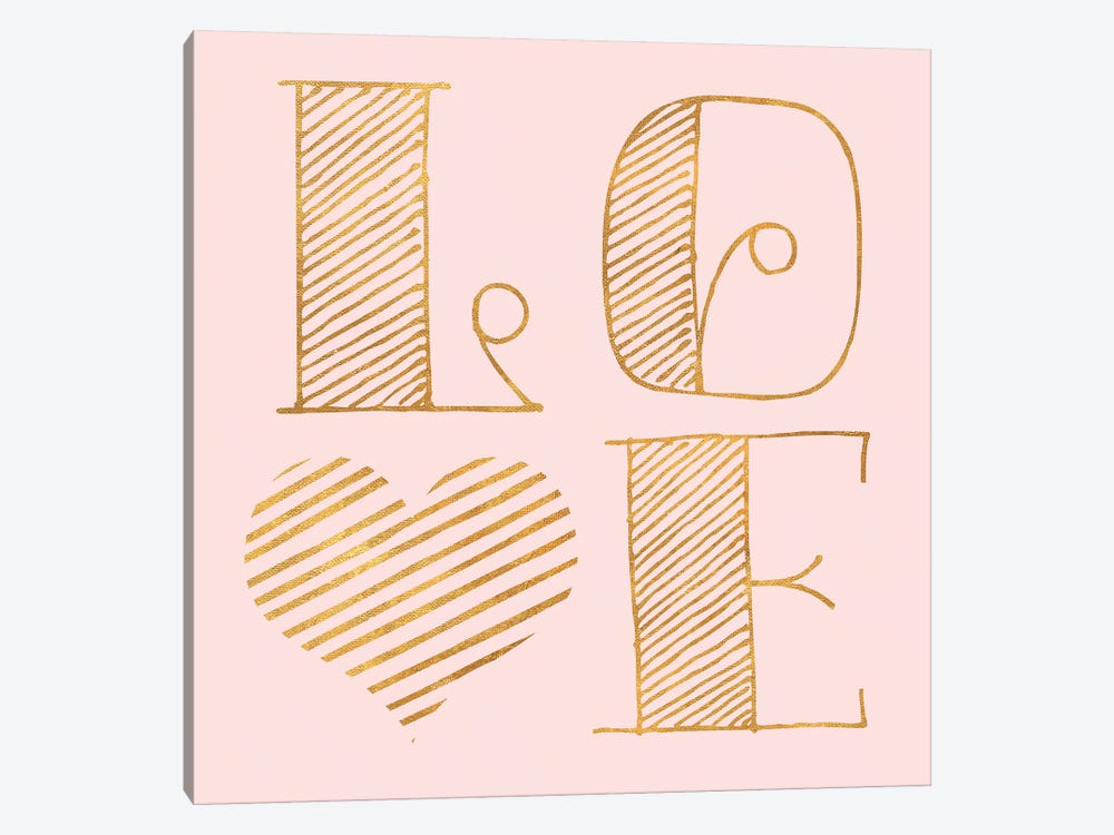 Love by Sd Graphics Studio 1-piece Canvas Wall Art
