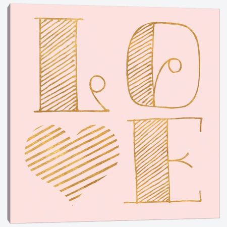 Love Canvas Print #SGS34} by Sd Graphics Studio Canvas Print