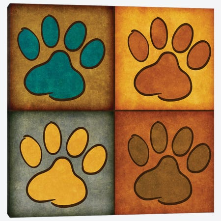 Paws And Treats I Canvas Print #SGS42} by Sd Graphics Studio Canvas Print