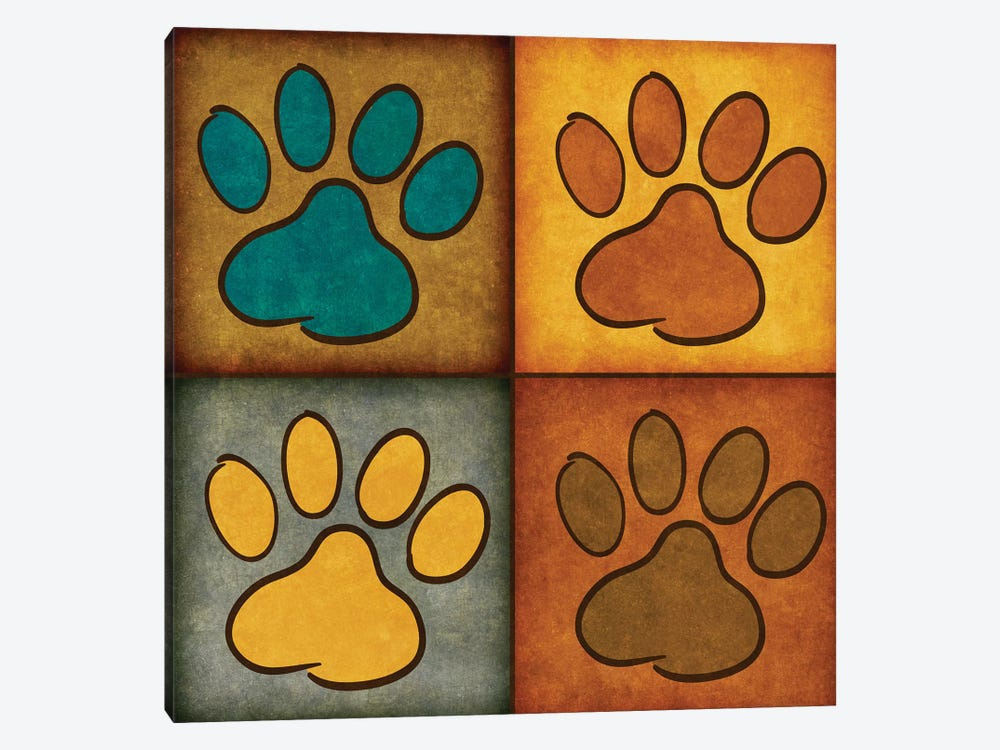 Paws And Treats I by Sd Graphics Studio 1-piece Canvas Art Print