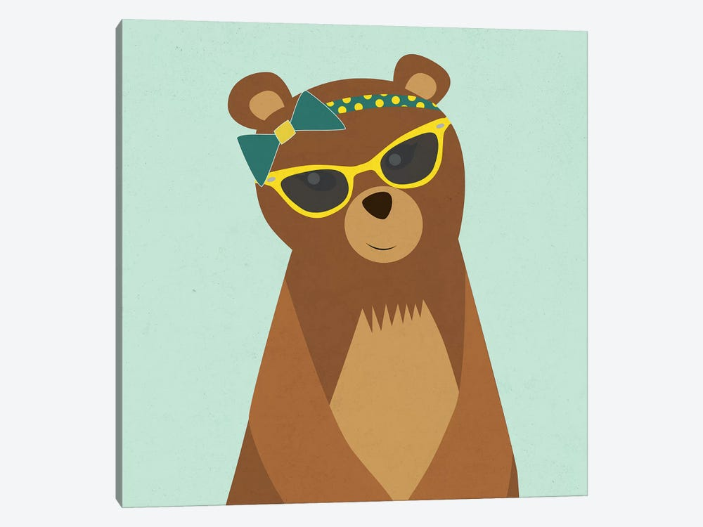 Hipster Bear I by Sd Graphics Studio 1-piece Art Print