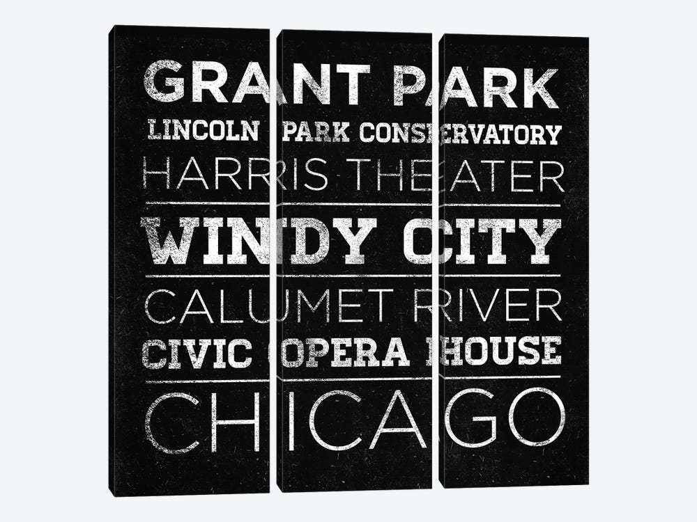 CHI Type II by Sd Graphics Studio 3-piece Canvas Artwork