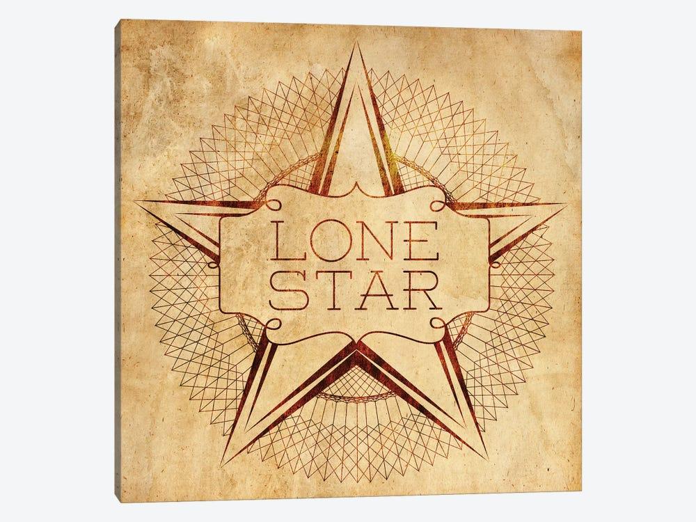 Lone Star by Sd Graphics Studio 1-piece Canvas Artwork