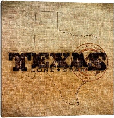 Texas Lone Star Canvas Art Print