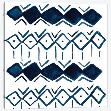 Blue Diamonds Canvas Print #SGS88} by Sd Graphics Studio Art Print