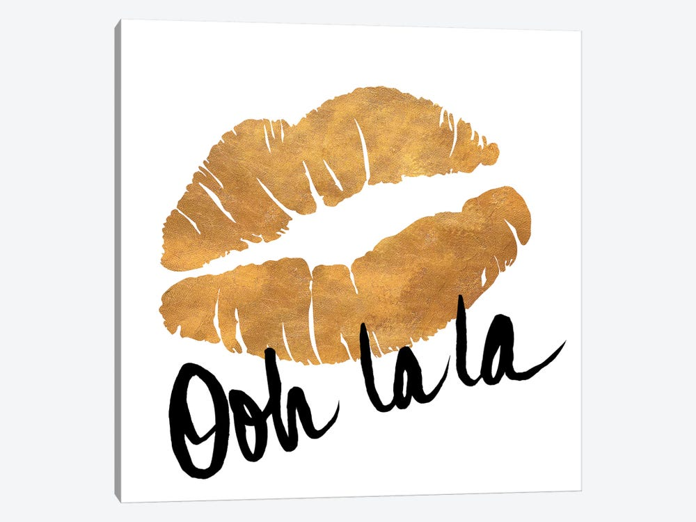 Ooh La La Lips by Sd Graphics Studio 1-piece Art Print