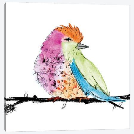 Bright Bird I Canvas Print #SGS91} by Sd Graphics Studio Canvas Artwork