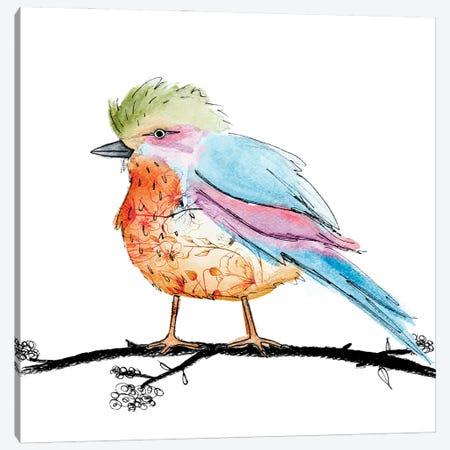Bright Bird II Canvas Print #SGS92} by Sd Graphics Studio Canvas Wall Art