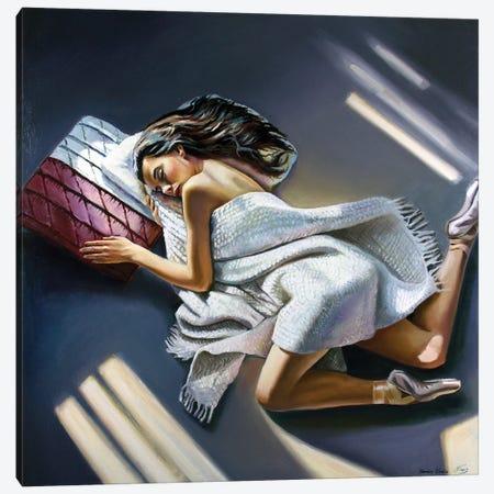 Sweet Rest After Performance Canvas Print #SGT10} by Serghei Ghetiu Art Print