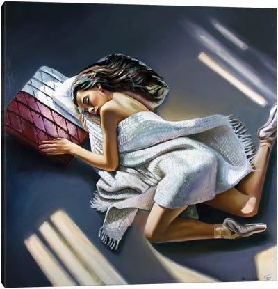 Sweet Rest After Performance Canvas Art Print