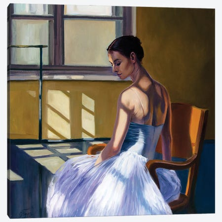 At The Ballet School IV Canvas Print #SGT18} by Serghei Ghetiu Art Print