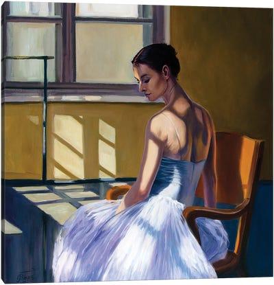 At The Ballet School IV Canvas Art Print