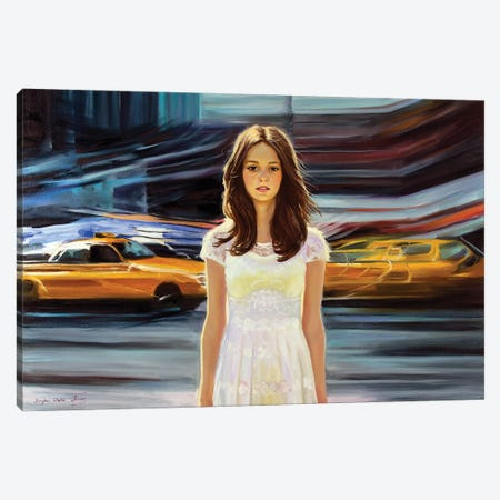 Somebody, Stop The Time! Canvas Print #SGT1} by Serghei Ghetiu Canvas Wall Art